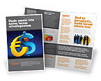 Financial/Accounting: Euro vs. Dollar Brochure Template #04268