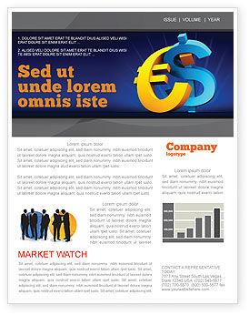 Euro vs. Dollar Newsletter Template