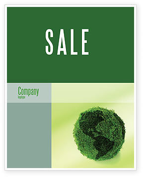 Global: Green Land Sale Poster Template #04269