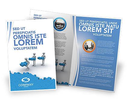 Offshore Development Brochure Template, 04271, Consulting — PoweredTemplate.com