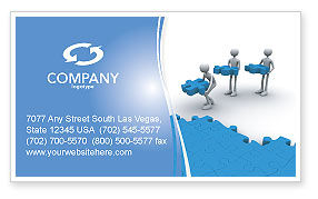 Consulting: Offshore Development Business Card Template #04271