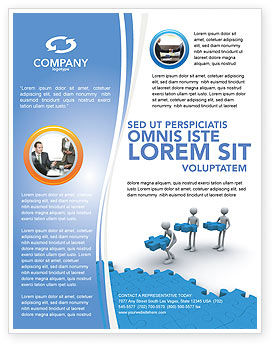 Consulting: Offshore Development Flyer Template #04271