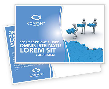 Offshore Development Postcard Template