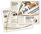 Careers/Industry: World Crisis Brochure Template #04282