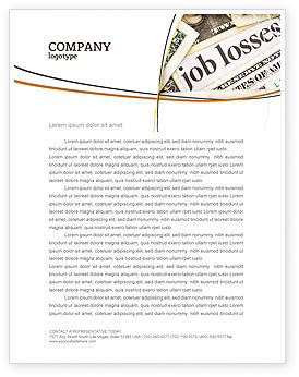 Careers/Industry: World Crisis Letterhead Template #04282