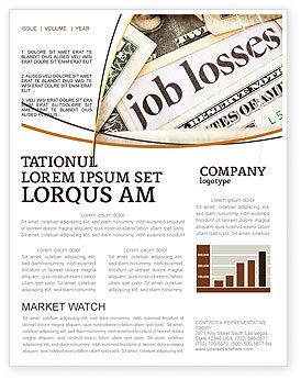 Careers/Industry: World Crisis Newsletter Template #04282