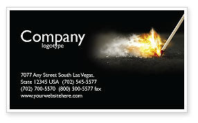 Business Concepts: Firestarter Business Card Template #04284
