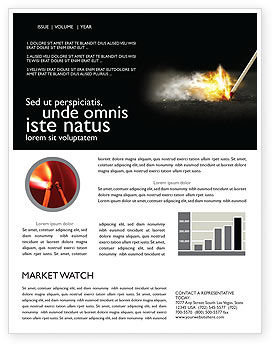 Business Concepts: Firestarter Newsletter Template #04284
