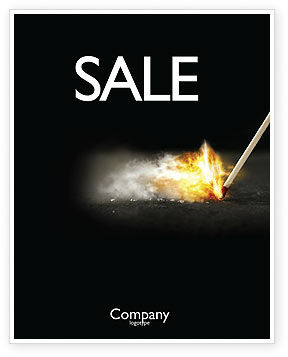 Business Concepts: Firestarter Sale Poster Template #04284
