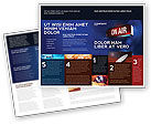 Careers/Industry: Live Broadcast Brochure Template #04285