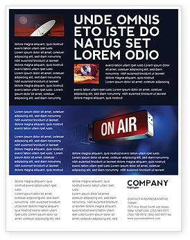 Careers/Industry: Templat Flyer Siaran Langsung #04285