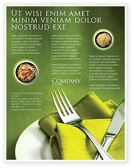 Dinner Flyer Templates Design - Flyer Templates for Microsoft Word ...