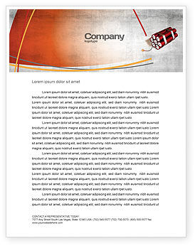 Dynamite Letterhead Template, 04287, Military — PoweredTemplate.com