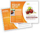 Medical: Balanced Nutrition Brochure Template #04289