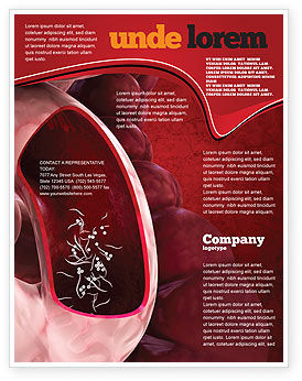 Medical: Intestinal Parasites Flyer Template #04294