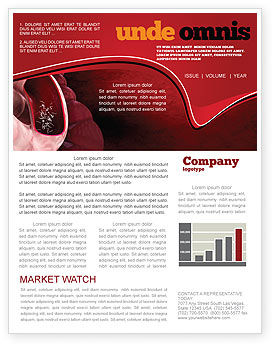 Medical: Intestinal Parasites Newsletter Template #04294