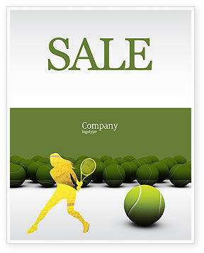 Tennis Poster Template In Microsoft Word Publisher And Adobe Ilrator Formats 04296 Now Edtemplate