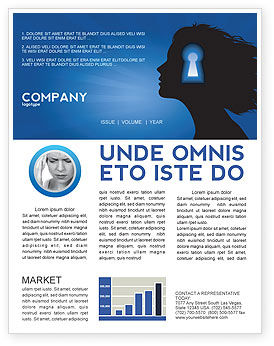 Consulting: Female Mind Newsletter Template #04302