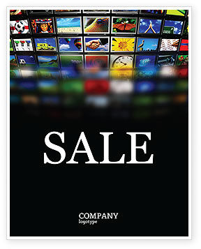 Art & Entertainment: Image Stock Sale Poster Template #04306