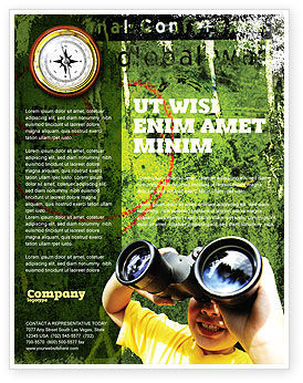 Scout Flyer Template