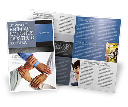 Consulting: Mutual Responsibility Brochure Template #04311