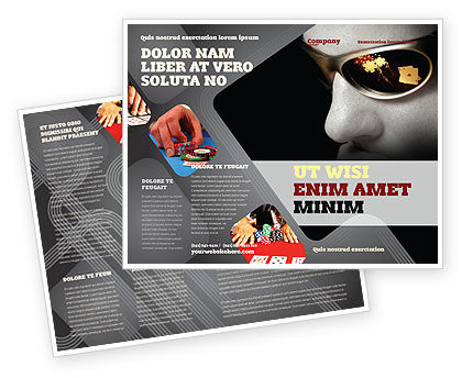 Gambler Brochure Template