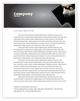 Sports: Gambler Letterhead Template #04317