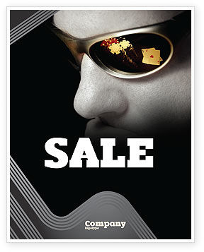 Sports: Gambler Sale Poster Template #04317