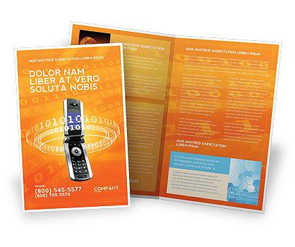 Telecommunication: Mobile Service Provider Brochure Template #04320