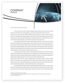 Global: Interactivity Letterhead Template #04321