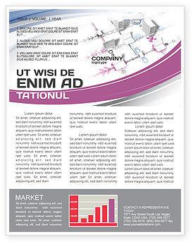 Multicomputer System Newsletter Template, 04331, Telecommunication — PoweredTemplate.com
