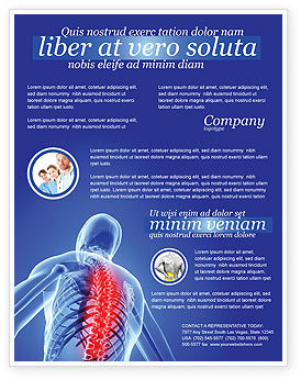 Medical: Osteoporosis Flyer Template #04334