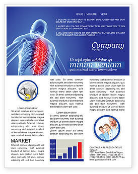 Medical: Osteoporosis Newsletter Template #04334