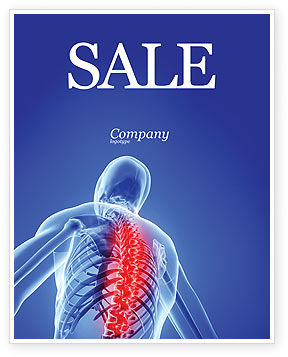 Osteoporosis Sale Poster Template, 04334, Medical — PoweredTemplate.com