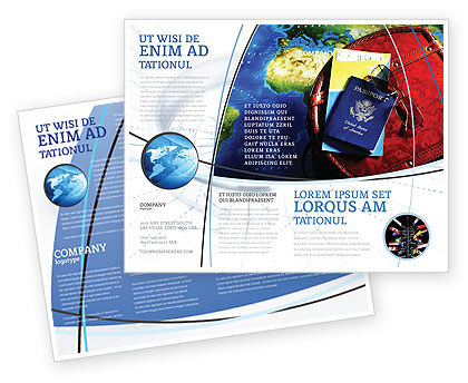 Careers/Industry: Travel Essentials Brochure Template #04336