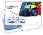 Careers/Industry: Travel Essentials Postcard Template #04336