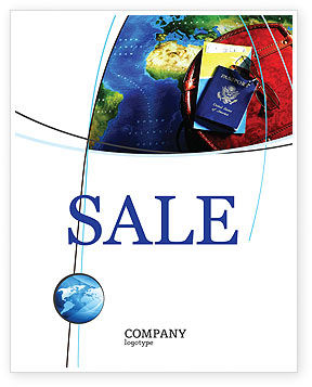 Travel Essentials Sale Poster Template, 04336, Careers/Industry — PoweredTemplate.com