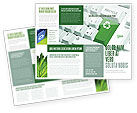 Nature & Environment: Recycling Technology Brochure Template #04339