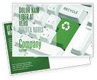 Nature & Environment: リサイクル技術 - はがきテンプレート #04339