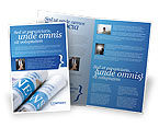Careers/Industry: New Press Brochure Template #04346