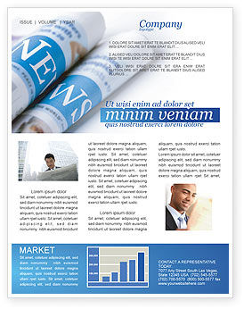 Careers/Industry: New Press Newsletter Template #04346