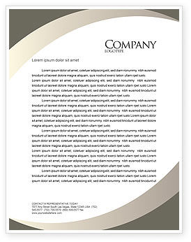 Key to Everything Letterhead Template, 04347, Business Concepts — PoweredTemplate.com