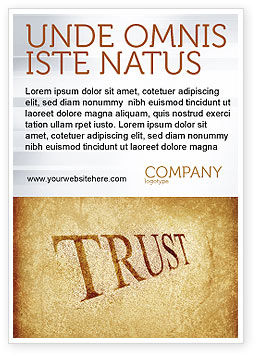 Financial/Accounting: Trust Ad Template #04364
