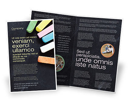 Education & Training: Modello Brochure - Gesso #04365