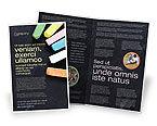 Education & Training: Chalk Brochure Template #04365