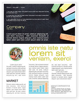 Education & Training: Chalk Newsletter Template #04365