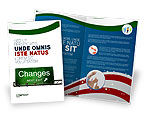 Business Concepts: Sign Change Brochure Template #04371