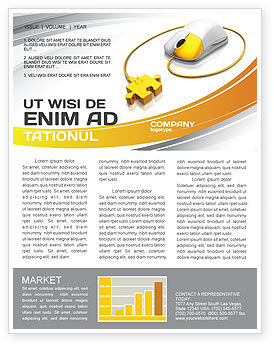 Computer Mouse Connection Newsletter Template