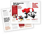Business Concepts: Business Crisis Solution Brochure Template #04375