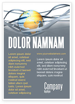 World Global Tendencies Ad Template, 04376, Global — PoweredTemplate.com